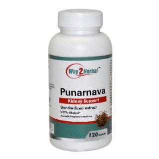 Way2Herbal Punarnava,  120 capsules