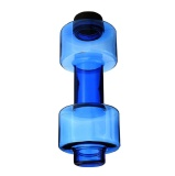 DYEG Dumbbell Shaker Bottle,  Blue  550 Ml
