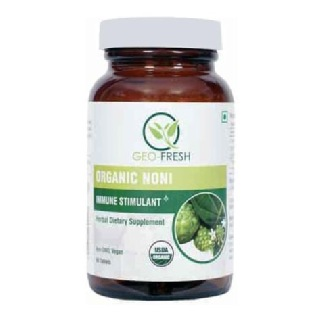 Geo Fresh Organic Noni 750 mg,  90 tablet(s)  Unflavoured