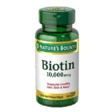 Nature's Bounty Biotin 10000 Mcg,  Unflavoured  120 Softgels