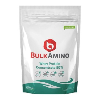 Advance Nutratech BulkAmino Whey Protein Concentrate 80%,  2.2 Lb  Unflavoured