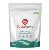 Advance Nutratech BulkAmino Whey Protein Concentrate 80%,  1.1 Lb  Unflavoured