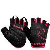 KOBO Ladies Exercise Weight Lifting Gym Gloves (WTG-10),  Black  XL