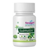 Swagat Herbals Subhalin,  Unflavoured  30 Capsules