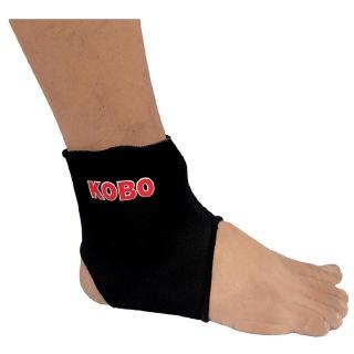 KOBO Neoprene Ankle Support (3640),  Black  Large