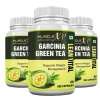 MuscleXP Garcinia Green Tea Lean Vital (Pack of 3),  60 capsules