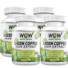 WOW Green Coffee Bean Extract Pack of 4