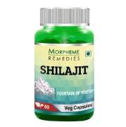 Morpheme Remedies Shilajit (500 mg),  60 veggie capsule(s)