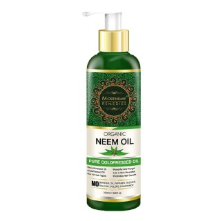 Morpheme Remedies Organic Neem Oil,  200 ml  for All Hair Types
