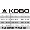 KOBO Back Support Weight Lifting Gym Belt (WTB-02),  Brown  Small