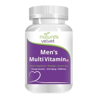 Natures Velvet Multi Vitamin Multi Mineral,  Unflavoured  30 softgels