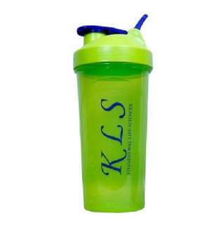 GHC Shaker Bottle with Steel Ball,  Green  600 ml