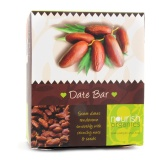 Nourish Organics Lime Date Bar,  6 Piece(s)/Pack  Lime Date