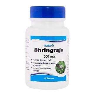 Healthvit Bhringraja (500 mg),  60 capsules