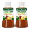 Green Elements Apple Cider Vinegar - Pack of 2 0.250 L Honey & Lemon