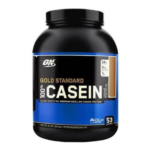 ON (Optimum Nutrition) Gold Standard 100% Casein,  4 lb  Chocolate Peanut Butter
