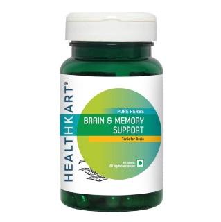 HealthKart Brain & Memory Support,  60 capsules