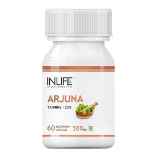 INLIFE Arjuna,  60 veggie capsule(s)