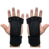 KOBO Hand Grips Gym Gloves (WTG-18),  Black  Large