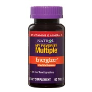 Natrol My Favourite Multiple Energizer,  Unflavoured  60 tablet(s)
