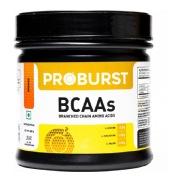 Proburst BCAAs Powder,  0.66 lb  Orange Lemon