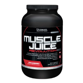 Ultimate Nutrition Muscle Juice  Revolution 2600,  4.69 lb  Strawberry