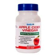 Healthvit Apple Cider Vinegar (500 mg),  60 capsules  Unflavoured