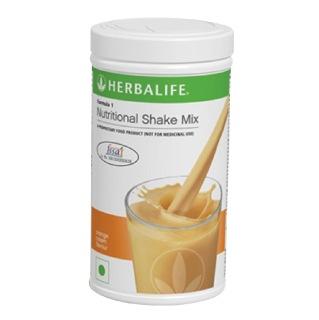 Herbalife Formula 1 Nutritional Shake Mix,  0.5 kg  Orange Cream
