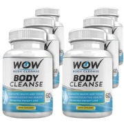 WOW Body Cleanse Pack of 6,  60 veggie capsule(s)  Unflavoured
