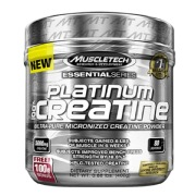 MuscleTech Platinum 100% Creatine,  Unflavoured  0.88 lb