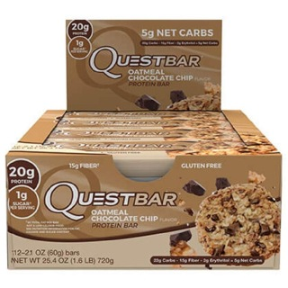 Quest Protein Bar,  12 Piece(s)/Pack  Oatmeal Chocolate Chip