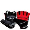 KOBO Gym Gloves (WTG-04),  Red & Black  Medium