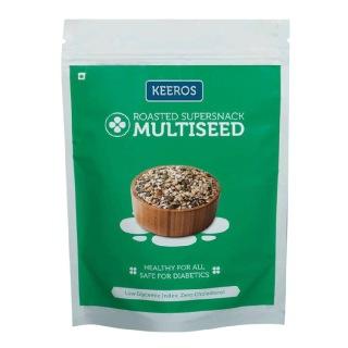 Keeros Multiseed Roasted Supersnack,  Slightly Sweet  0.450 kg