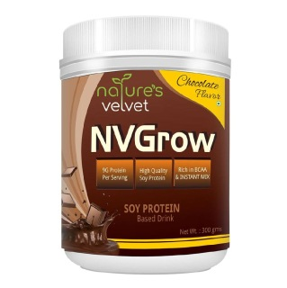 Natures Velvet NVGrow Soy Protein,  0.66 lb  Chocolate