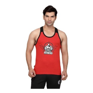 Omtex Gym Stringers,  Red  Medium