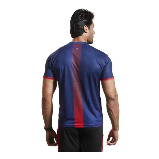 Omtex Active Wear T-Shirts - 1602,  Red  Small