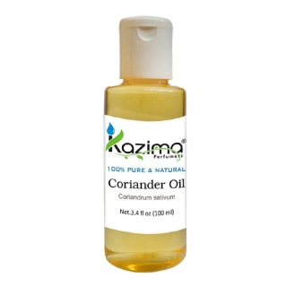 Kazima Coriander Oil,  100 ml  100% Pure & Natural