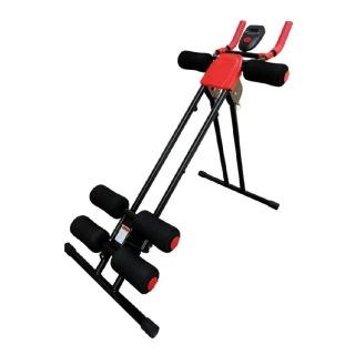 KOBO Power Plank Abdominal Trainer Ab Exerciser (AC-15),  Free Size  Black & Red