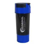 GHC Cyclone Shaker Bottle,  Blue  600 ml