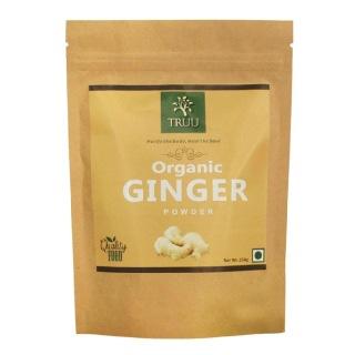 Truu Organic Ginger Powder,  0.250 kg