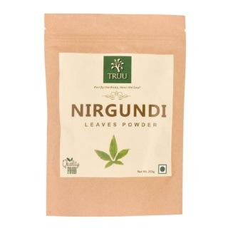 Truu Nirgundi Leaves Powder,  0.250 kg