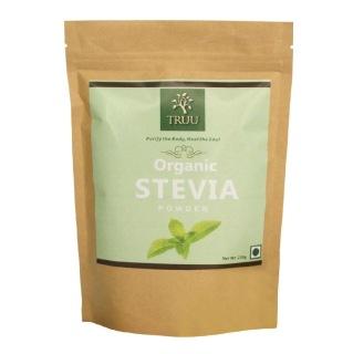 Truu Organic Stevia Powder,  0.250 kg