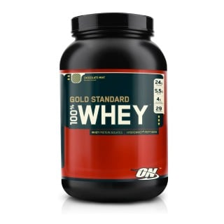 ON (Optimum Nutrition) Gold Standard 100% Whey Protein,  Chocolate Mint  2 Lb