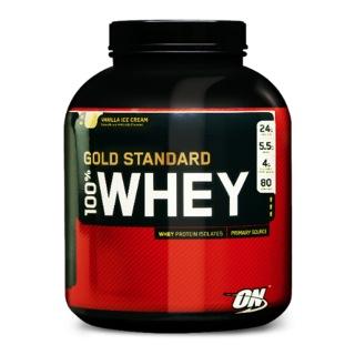 ON (Optimum Nutrition) Gold Standard 100% Whey Protein,  Vanilla Ice Cream  5 Lb