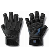 Harbinger Flex Fit Ultra Wrist Wrap Gloves,  Black  Medium