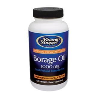 The vitamin shoppe borage oil 1000 mg 100 softgels for The vitamin shoppe omega 3 fish oil