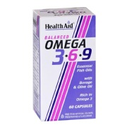 Health Aid Omega 3-6-9  (Buy 1 Get 1 Free),  60 Capsules