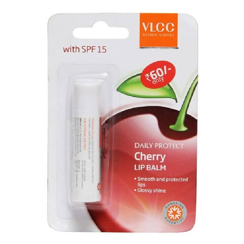 VLCC Daily Protect Lip Balm,  Cherry