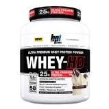 BPI Sports Whey-HD Ultra Premium,  Milk & Cookies  4.9 Lb