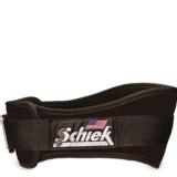Schiek Workout Belt 6 Inch,  Black  Large